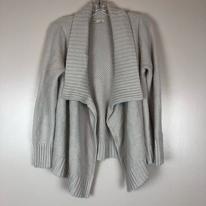 Old Navy Cardigan Size Large Light Gray
